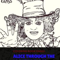 Alice Through the Looking Glass Coloring Book Pages