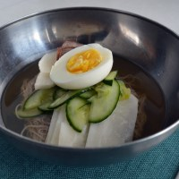 Naengmyeon - 냉면 (cold noodles)