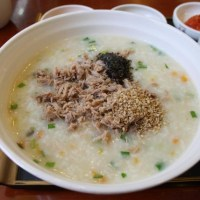 Korean rice porridge - 죽 (Juk)