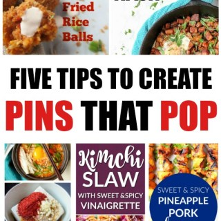 Five tips to make Pinterest Pins that Pop!