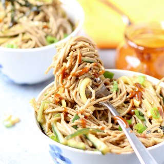 Super Simple Sesame Soba Noodles