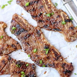 Galbi: Korean BBQ Beef Short Ribs