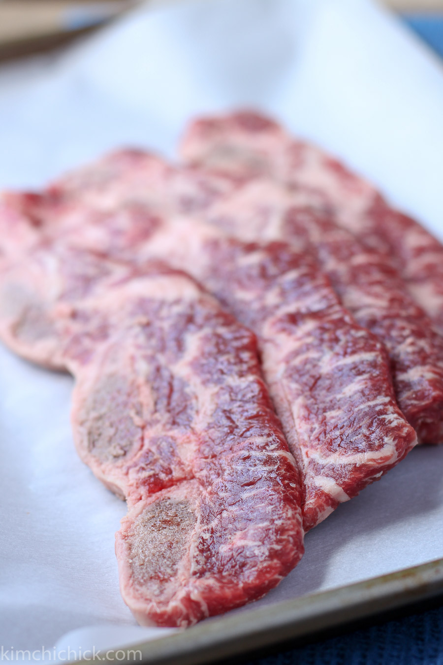 Galbi: Korean BBQ beef short ribs