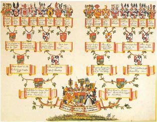 Jak narysować drzewo genealogiczne heraldyka