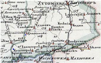 Własność ziemska na Ukrainie Bratałów Mały i Wielki ow