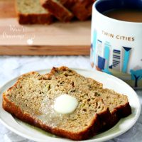 Zucchini Banana Bread with Protein
