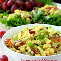 Healthy Curried Chicken Salad