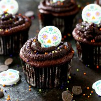 Flourless Paleo Chocolate Cupcakes