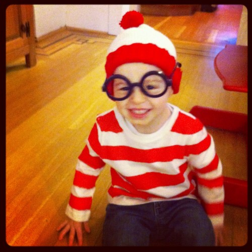 picture of toddler as Waldo