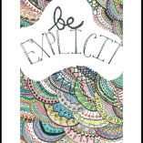 image of Be Explicit poster