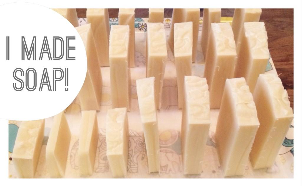 cut bars of soap
