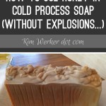Using Honey in Making Cold-Process Soap