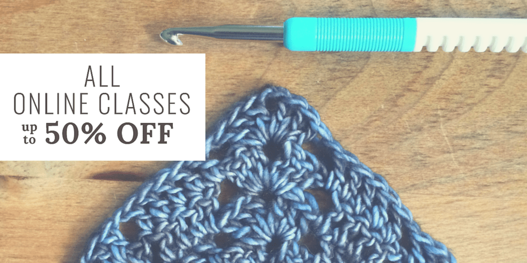 Get up to 50% off Craftsy classes this weekend! #affiliate