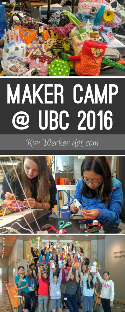 Mighty Ugly at UBC Maker Camp 2016