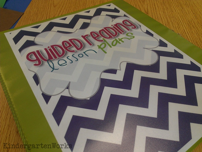 guided reading - guided setup :: KindergartenWorks