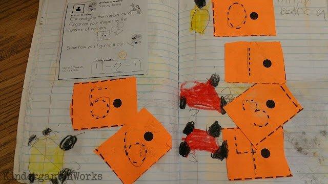math journals - meet the Common Core