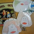 retell literacy center activity - Hansel and Gretel