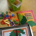 retell literacy center activity - Chicka Chicka Boom Boom