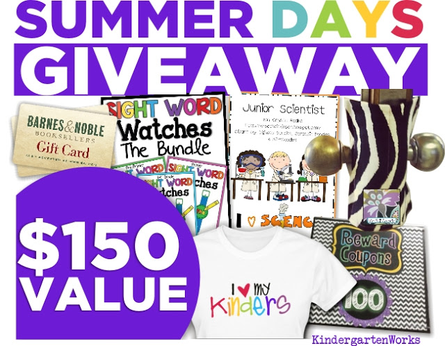 KindergartenWorks: Summer Days Giveaway $150