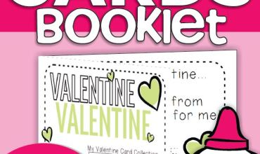 Valentine Card Collection Keepsake Book {Printable}