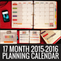 Printable Calendar 2015-2016 Calendar Template - KindergartenWorks