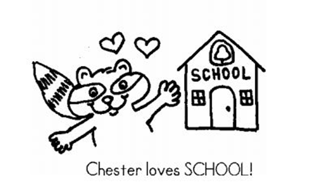 chester raccoon coloring page - 27 fresh 39 the kissing hand 39 freebies and teaching