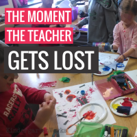 The Moment the Teacher Gets Lost