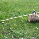Ritterschwert Holz fertig