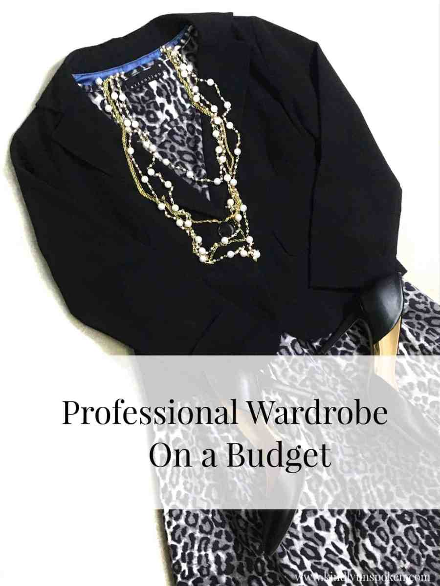 How to Build a Professional Wardrobe on a Budget