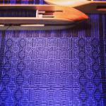 Bamboo shadow weave scarf handwoven scarf kindredthreads bamboo shadowweave