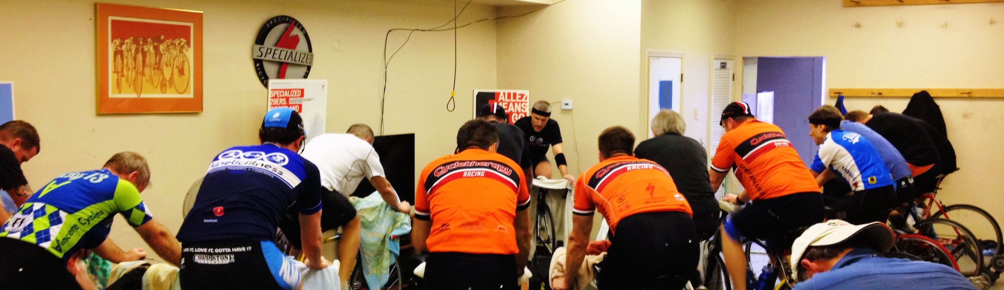Cycletherapy Indoor Spin Class Winter 2016 – 2017