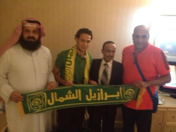 Ibrahim Salah signs for Al-Orouba