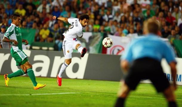Mohamed Salah vs FC Ludogorets