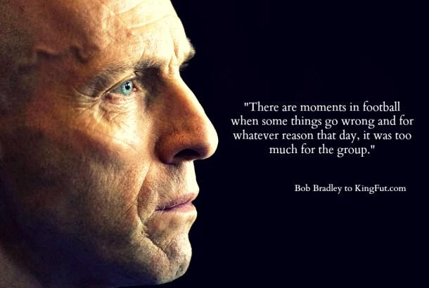 Former Egypt coach Bob Bradley