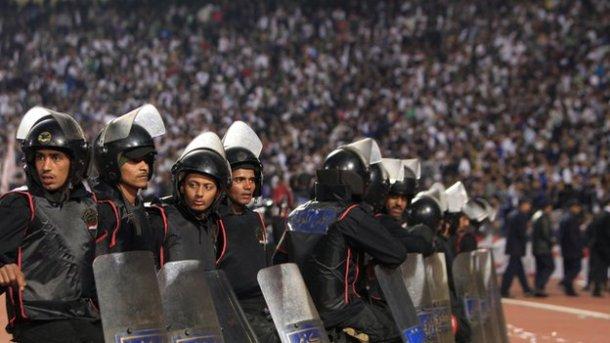 Ministry of Interior - Egypt Premier League postponed