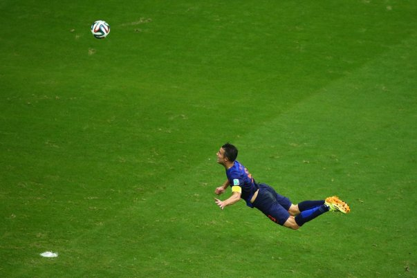Van Persie vs Spain