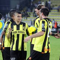 VIDEO: Karim Hafez scores first goal for Lierse as they're thrashed 6-1