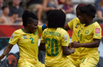 Cameroon's women national team celebrate