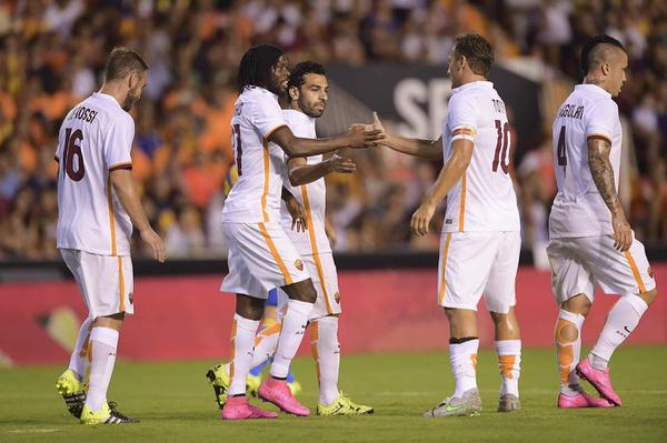 Photo: AS Roma's official Twitter account