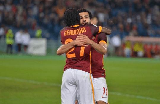 salah roma 3-1 empoli