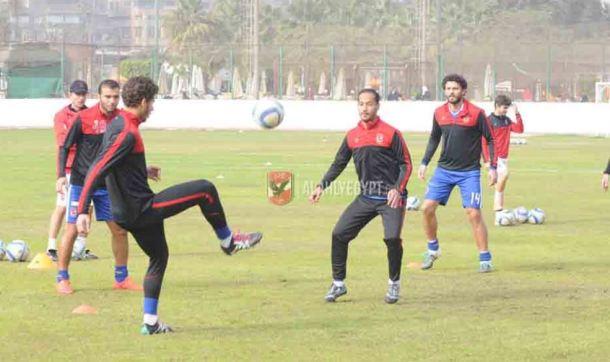 Ahly training squad Peseiro face Aswan