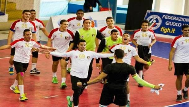 Egyptian youth volleyball team