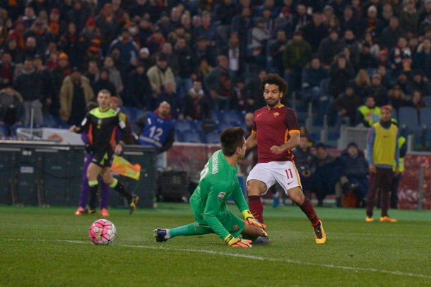 AS Roma Bologna Salah