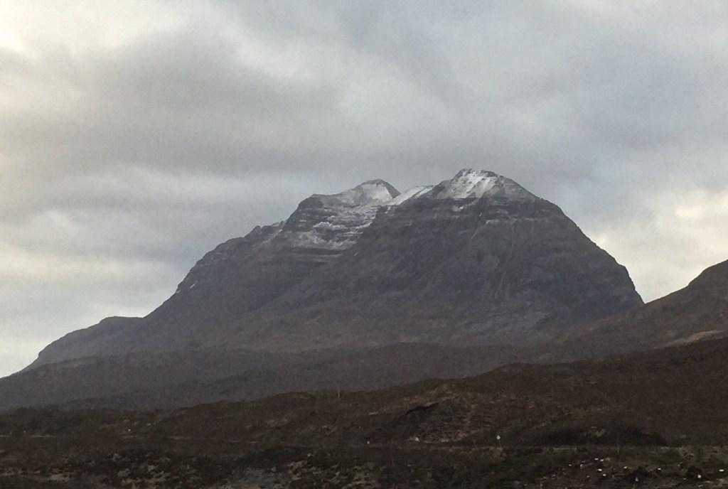Liathach in early January