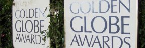 Golden Globe Award Sign