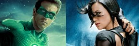 Ryan Reynolds (Green Lantern) Charlize-Theron (Aeon Flux)