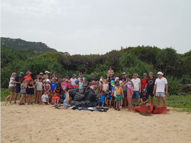 Fan Lau beach cleanup -- 8 September 2018