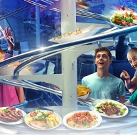 The new Rollercoaster Restaurant at Alton Towers Resort