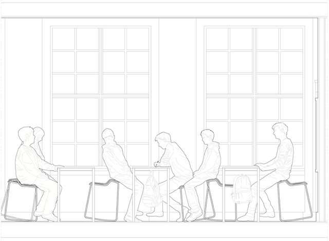Unique School Chair Drawing For Decorating Ideas