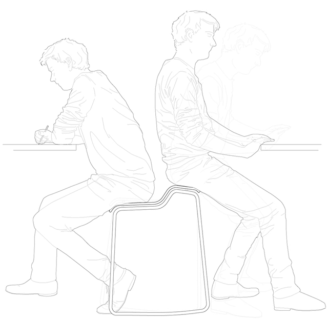 Unique School Chair Drawing And Inspiration